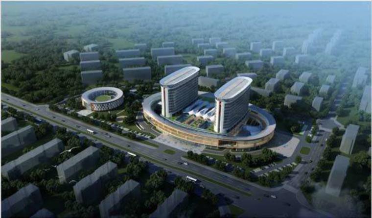 [福建]龙岩市妇幼保健院建筑模型设计(深圳总院)