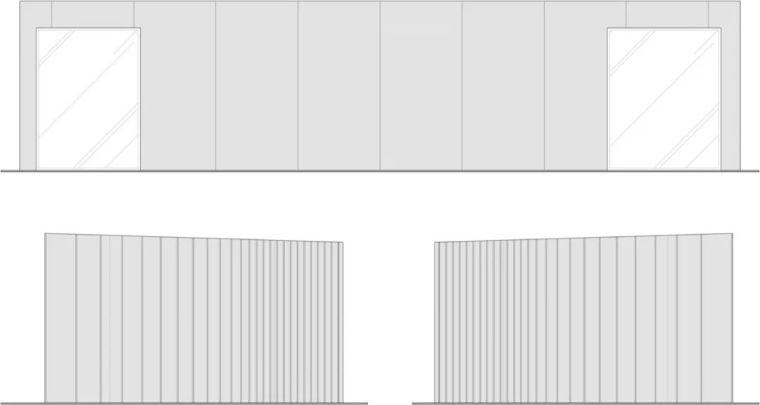 2个集装箱拼成一室一厅,60㎡的极简白实在太美了!_5