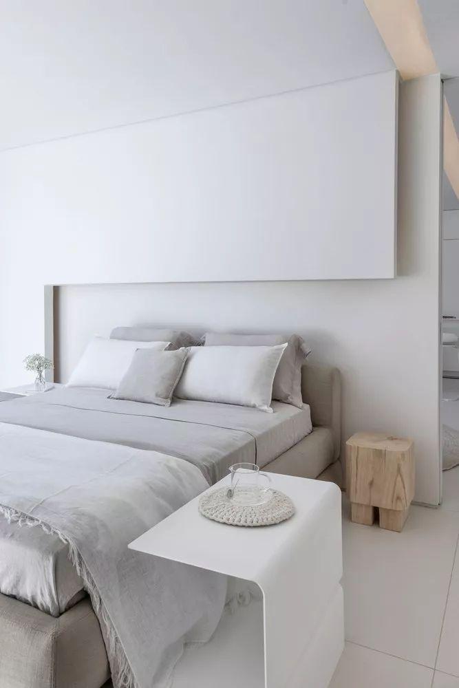2个集装箱拼成一室一厅,60㎡的极简白实在太美了!_22