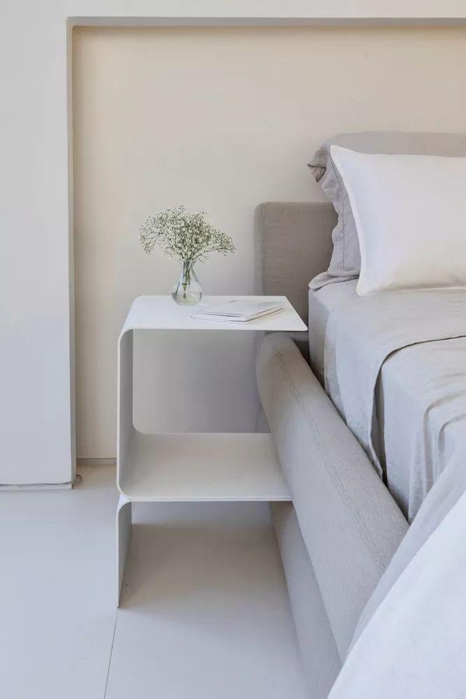 2个集装箱拼成一室一厅,60㎡的极简白实在太美了!_21