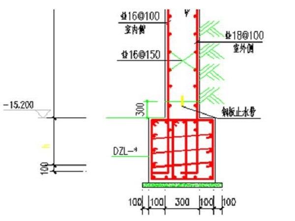 框剪结构住宅楼挡土墙专项施工方案