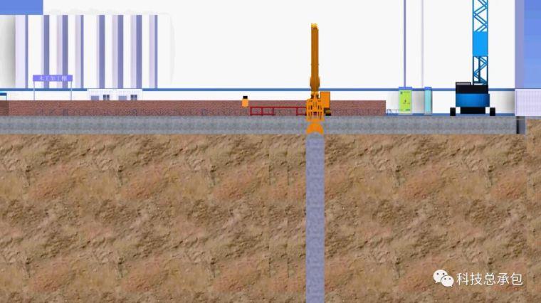地下连续墙施工的实例演示,五分钟了解完整工艺!