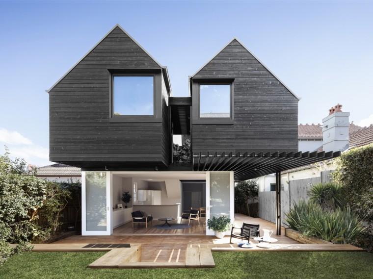 澳大利亚双子顶别墅