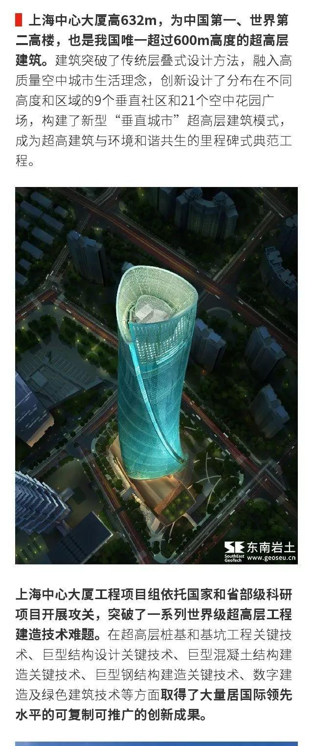 上海中心大厦工程超高层桩基和基坑工程等多项关键技术