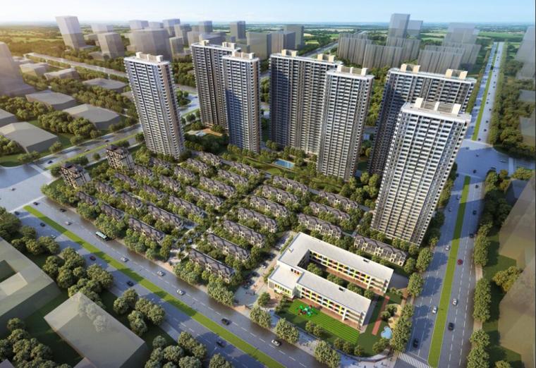 [浙江]杭州良渚融信·澜天豪宅项目模型设计(高层+别墅)