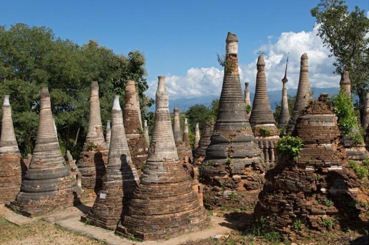 缅甸正规实体网投骨灰级古建筑群。