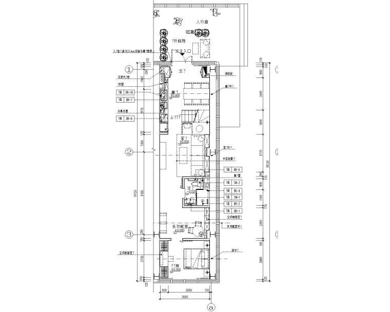 [北京]大兴万科天地5.5米挑高样板间CAD全套施工图+设计方案+效果图+物料书+实景