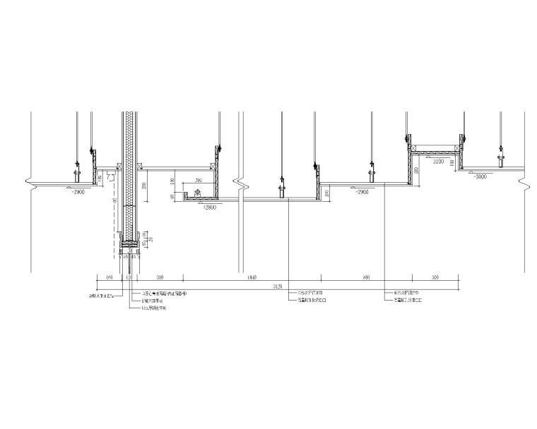 室内装修施工节点集合(柜子、洗手盆、吊顶、门、石材干挂、玻璃、楼梯等)