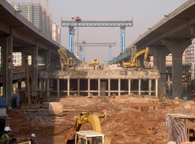 老旧/危桥整体拆除施工方案之切割应用