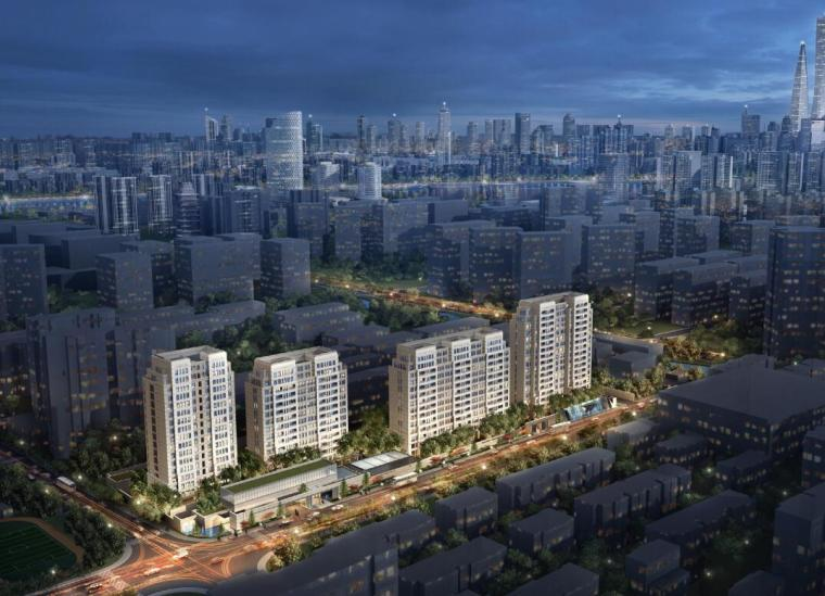 [上海]平凉社区02C1-12地块居住区建筑方案文本(GAD国际计 PDF+89页)
