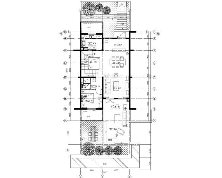 [上海]Studio HBA-上海永耀宝山项目丨会所+3套复式样板间丨施工图+效果图+物料