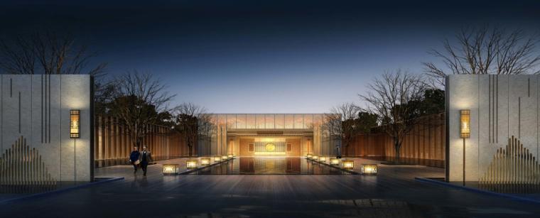 银盛泰临沂·金升地块售楼处两方案建筑模型设计