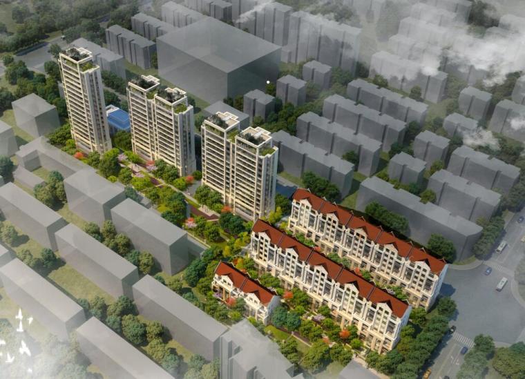 [上海]平凉社区02C1-12地块居住区建筑方案文本(日清设计 PDF+125页)