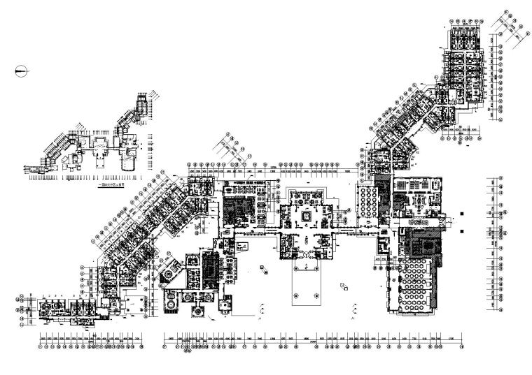 [西安]杨邦胜-凯悦酒店CAD装修施工图+效果图+官方摄影
