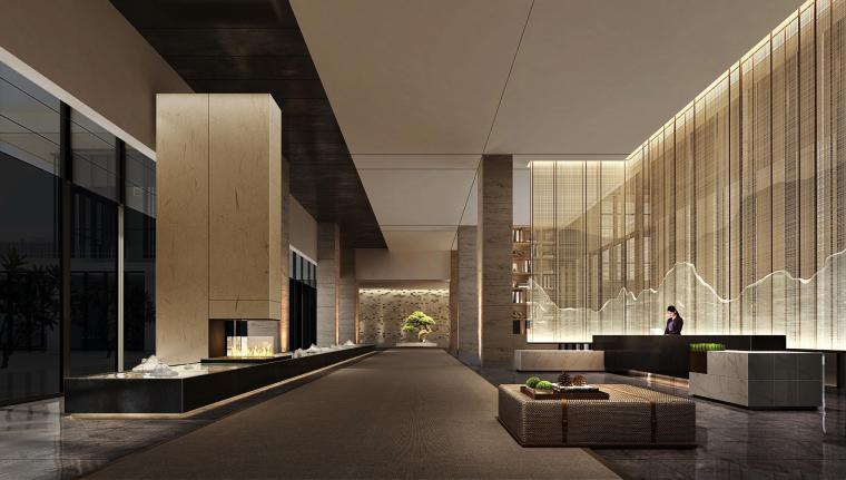 [广东]深圳机场希尔顿逸林酒店|效果图+灯光概念方案汇报155P