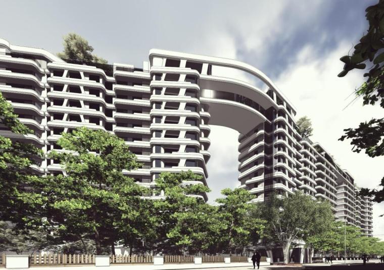 [上海]平凉社区02C1-12地块居住区建筑方案文本(霍普设计|PDF+83页)