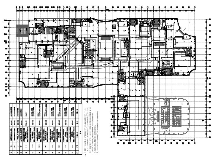 山东大型商业综合体酒店子项机电及饰装修专业施工图