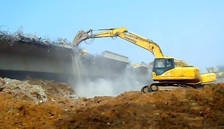 变截面连续钢筋混凝土悬臂梁老桥拆除施工方案(50页,图文并茂)