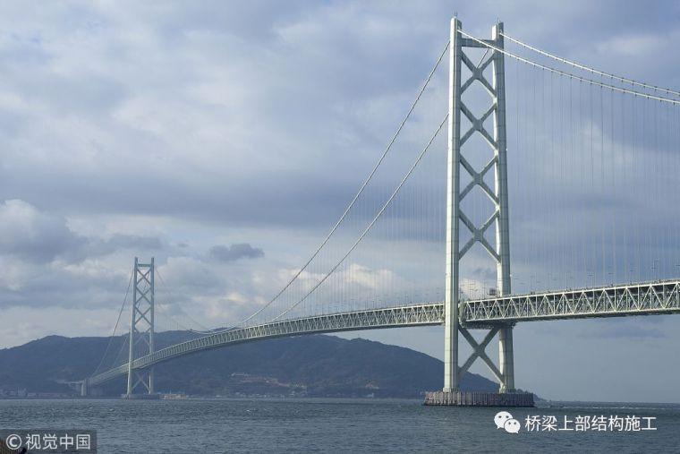 世界上最长的悬索桥──明石海峡大桥