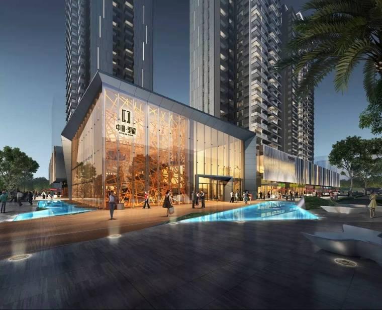 [四川]成都中洲·里程现代风格建筑模型设计