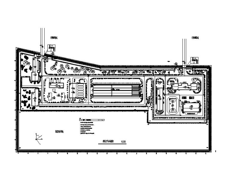 湖北省自来水厂弱电智能化施工图(智能化高级工程师)