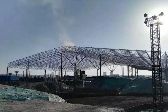 曹正罡:大跨度预应力钢结构干煤棚设计与施工_9