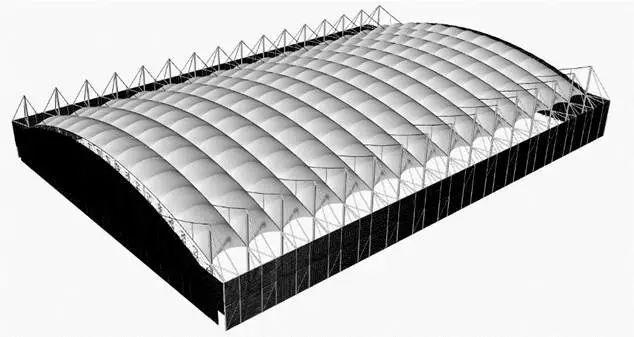 曹正罡:大跨度预应力钢结构干煤棚设计与施工_65