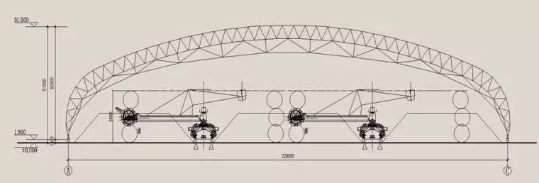 曹正罡:大跨度预应力钢结构干煤棚设计与施工_63