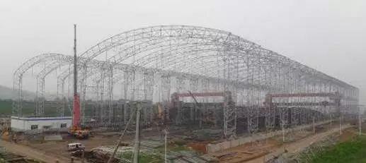 曹正罡:大跨度预应力钢结构干煤棚设计与施工_60