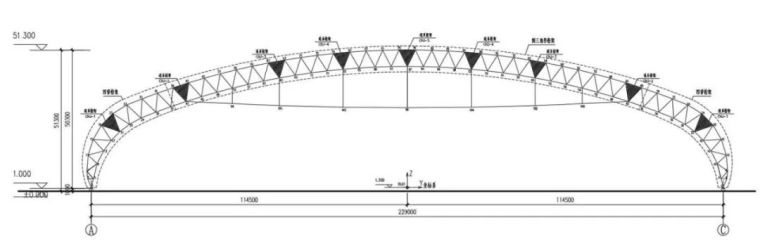 曹正罡:大跨度预应力钢结构干煤棚设计与施工_117