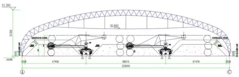曹正罡:大跨度预应力钢结构干煤棚设计与施工_116