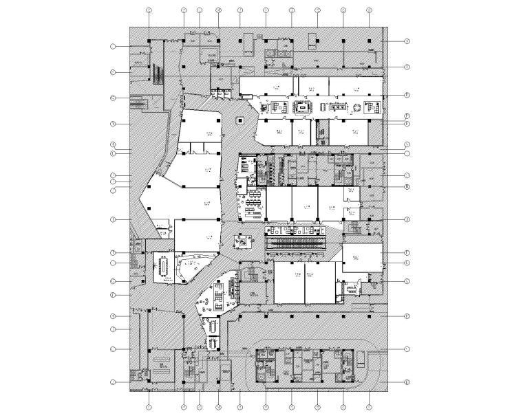 [上海]虹桥万科中心商务区│CAD施工图+设计方案+SU模型