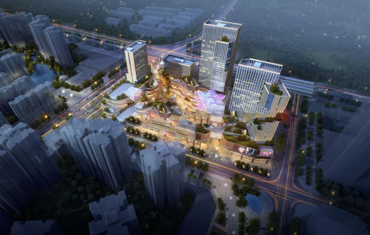 [四川]成都红光里龙城国际(六期)商业广场概念设计