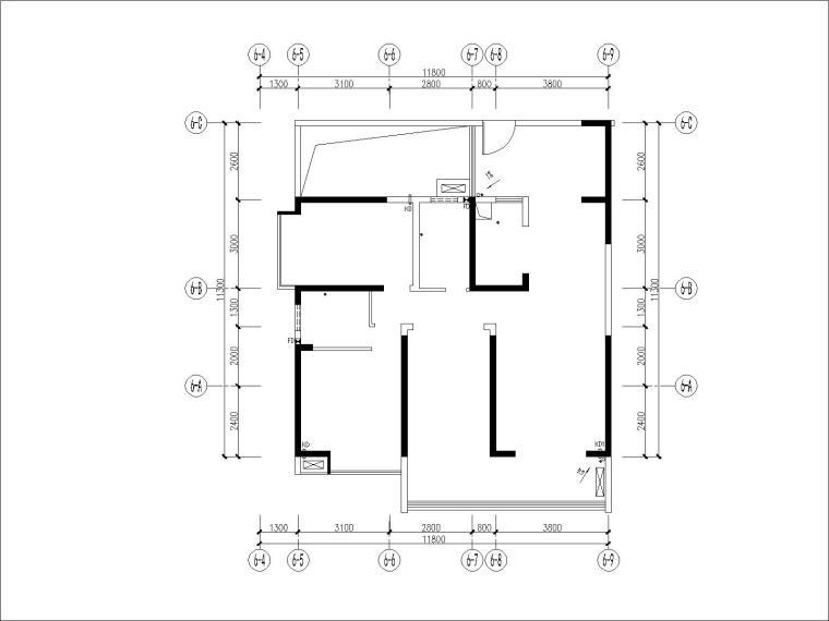 [广州]梁志天-广州金海湾B栋E单位样板间丨施工图+官方摄影