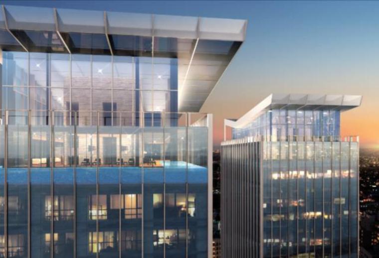 [北京]通州万科大都会滨江超高层现代豪宅+远洋商业综合体设计