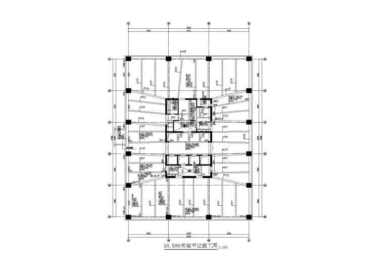 [天津]23层框筒结构办公楼全套施工图(建筑结构水暖电)