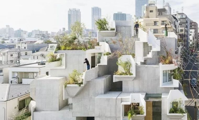 让人脑洞大开的日本前卫住宅设计 日本岛田阳建筑设计事务所