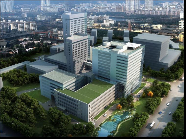 [青岛]医院大楼绿色施工展示汇报材料(111页)