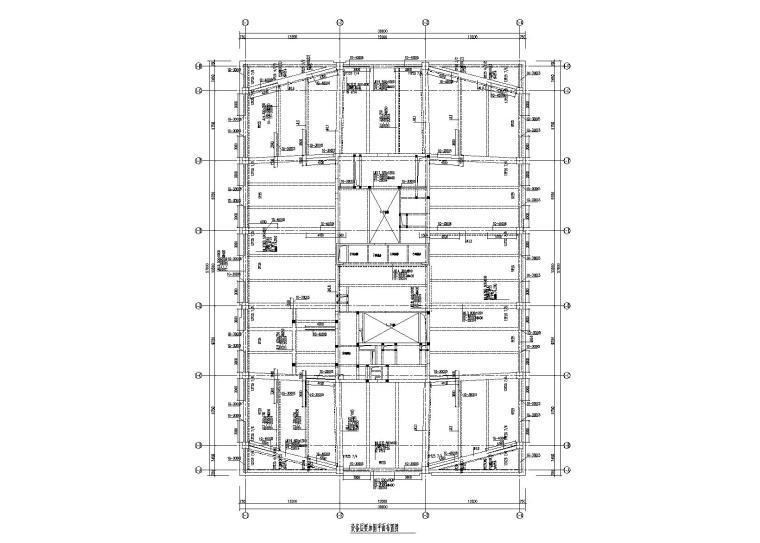 16层钢混高层建筑屋面改造加固工程施工图(2017)
