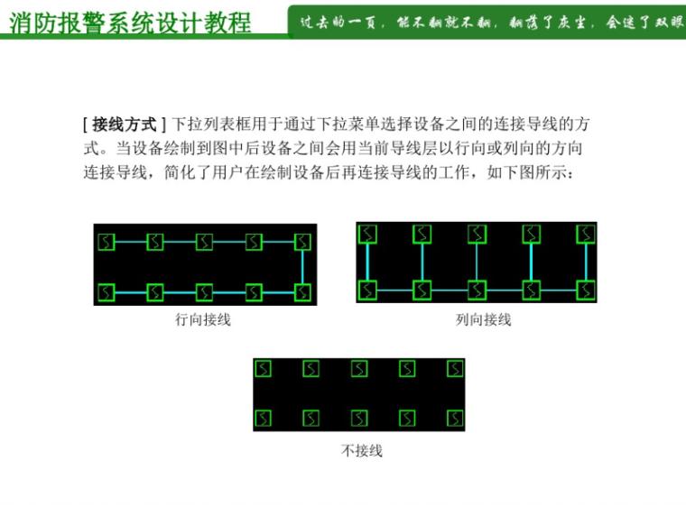 天正消防报警系统设计教程51页