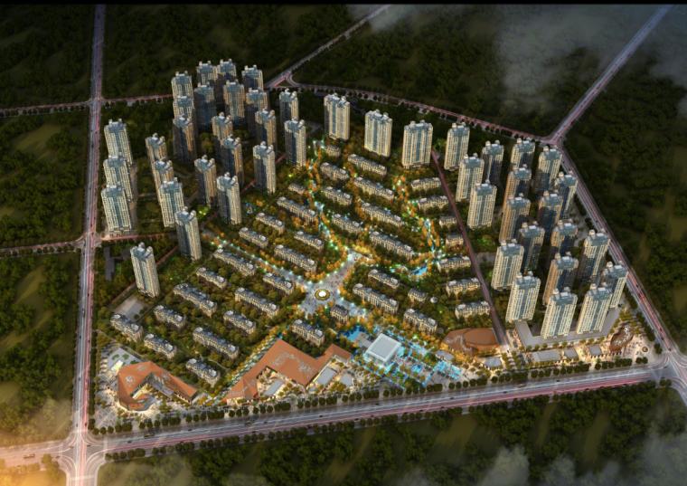 [辽宁]华润城居住区建筑规划方案设计(CCDI设计|PDF+97页)