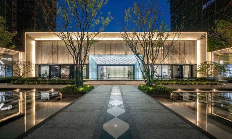 现代简雅风格售楼处建筑设计,感受自然的光影交错_18