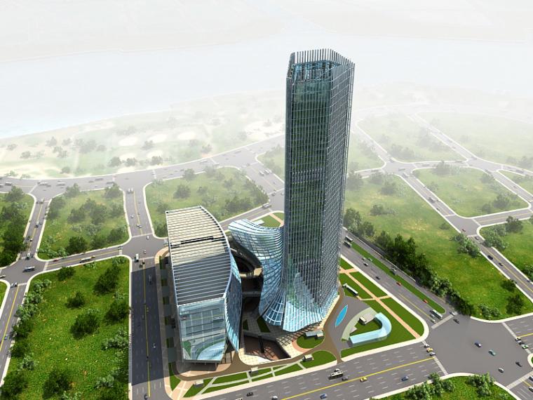 [上海]国际航空服务中心绿色施工示范工程汇报材料