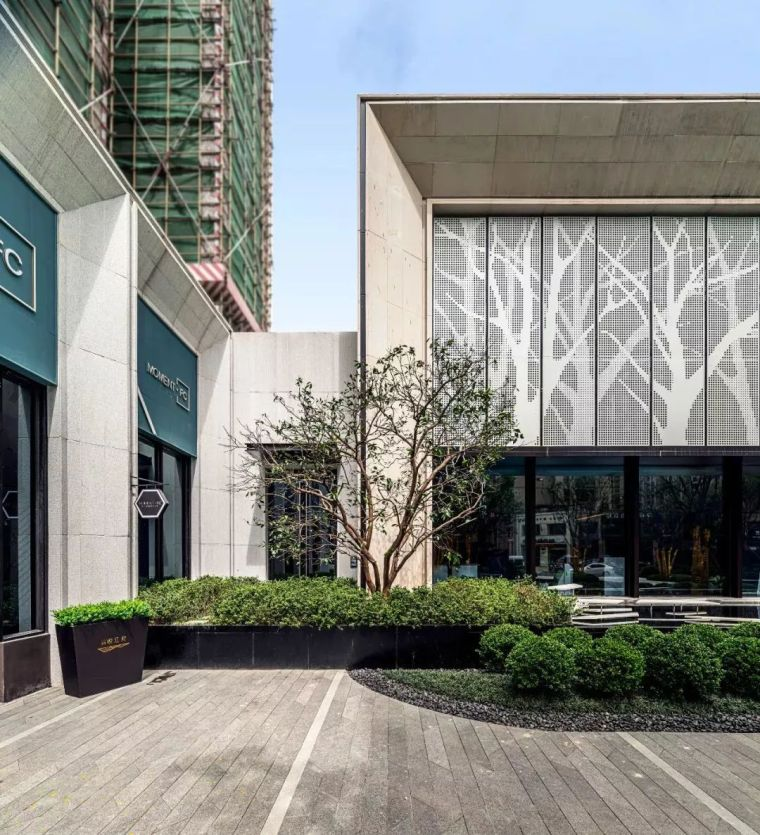 现代简雅风格售楼处建筑设计,感受自然的光影交错_21