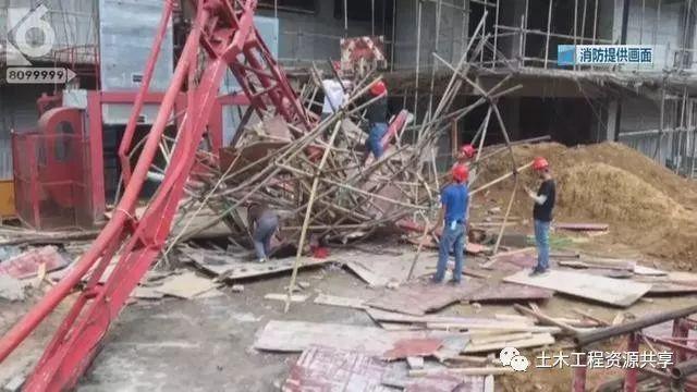 突发!工地塔吊钢索突然断裂,砸中两人,附塔吊安全操作规程