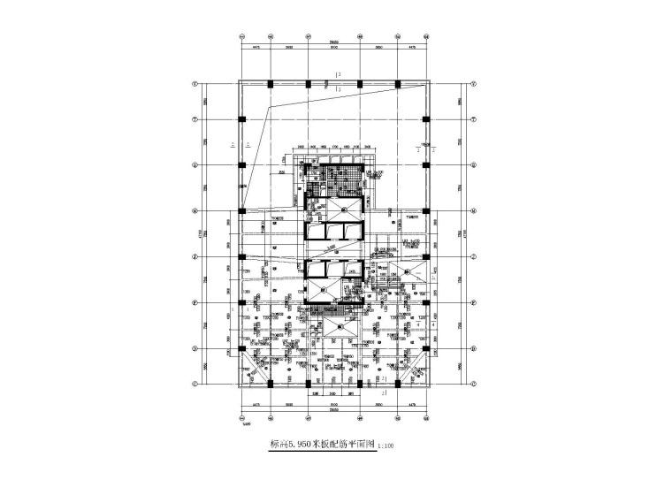 季景新城|框筒结构商业办公楼全套施工图(建筑结构水暖电)