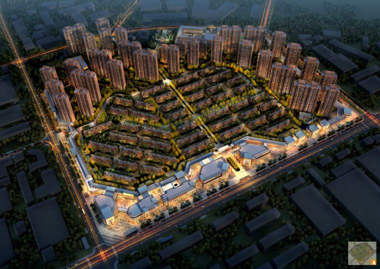 [辽宁]欧陆风格华润城居住区建筑规划方案设计(DC国际|PDF+349页)