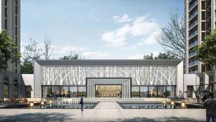 现代简雅风格售楼处建筑设计,感受自然的光影交错_6