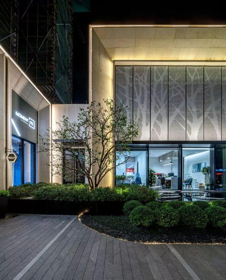 现代简雅风格售楼处建筑设计,感受自然的光影交错_33