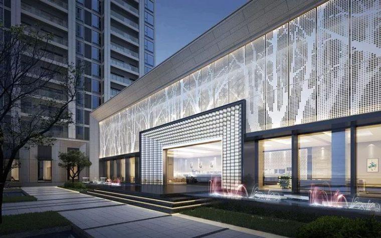 现代简雅风格售楼处建筑设计,感受自然的光影交错_8